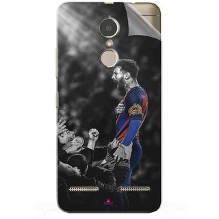 Snooky Printed lionel messi wallpaper 2017 Pvc Vinyl Mobile Skin Sticker For Lenovo K6 Power
