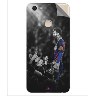 Snooky Printed lionel messi wallpaper 2017 Pvc Vinyl Mobile Skin Sticker For Vivo V7 Plus