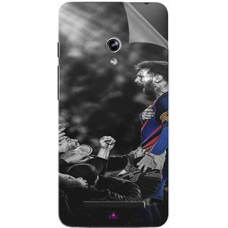 Snooky Printed lionel messi wallpaper 2017 Pvc Vinyl Mobile Skin Sticker For Asus Zenfone 5