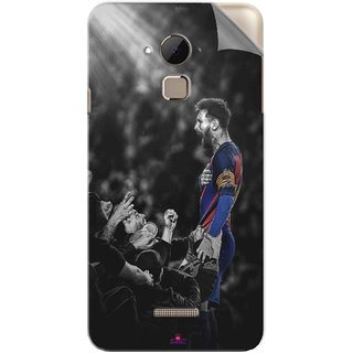 Snooky Printed lionel messi wallpaper 2017 Pvc Vinyl Mobile Skin Sticker For Coolpad Note 3 Plus