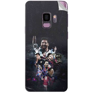 Snooky Printed lionel messi wallpaper Pvc Vinyl Mobile Skin Sticker For Samsung Galaxy S9 Plus