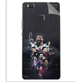 Snooky Printed lionel messi wallpaper Pvc Vinyl Mobile Skin Sticker For Huawei Honor 8 Smart