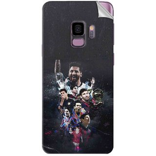 Snooky Printed lionel messi wallpaper Pvc Vinyl Mobile Skin Sticker For Samsung Galaxy S9