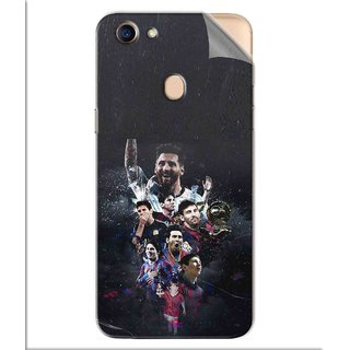 Snooky Printed lionel messi wallpaper Pvc Vinyl Mobile Skin Sticker For Oppo F5