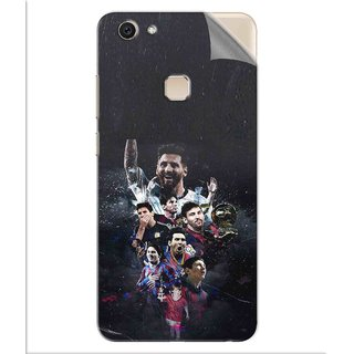 Snooky Printed lionel messi wallpaper Pvc Vinyl Mobile Skin Sticker For Vivo V7 Plus