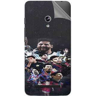 Snooky Printed lionel messi wallpaper Pvc Vinyl Mobile Skin Sticker For Asus Zenfone 5