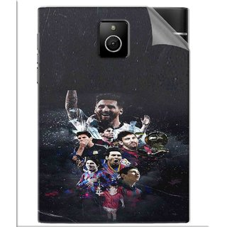 Snooky Printed lionel messi wallpaper Pvc Vinyl Mobile Skin Sticker For BlackBerry Passport