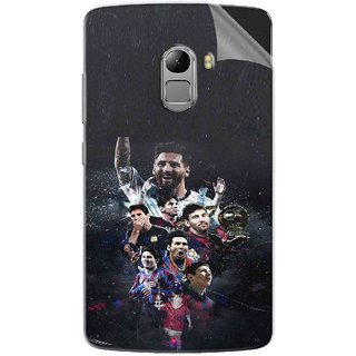 Snooky Printed lionel messi wallpaper Pvc Vinyl Mobile Skin Sticker For Lenovo K4 Note