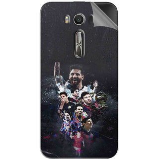 Snooky Printed lionel messi wallpaper Pvc Vinyl Mobile Skin Sticker For Asus Zenfone 2 Laser ZE500KL