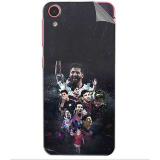 Snooky Printed lionel messi wallpaper Pvc Vinyl Mobile Skin Sticker For Htc Desire D626