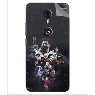 Snooky Printed lionel messi wallpaper Pvc Vinyl Mobile Skin Sticker For Gionee A1