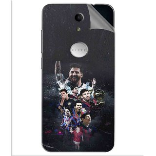 Snooky Printed lionel messi wallpaper Pvc Vinyl Mobile Skin Sticker For Swipe Elite Plus