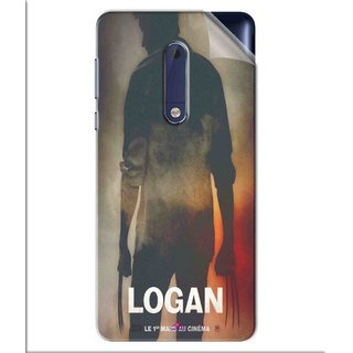 Snooky Printed Logan Pvc Vinyl Mobile Skin Sticker For Nokia 5