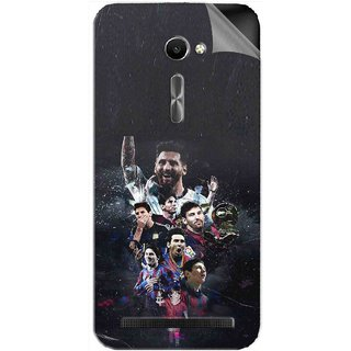Snooky Printed lionel messi wallpaper Pvc Vinyl Mobile Skin Sticker For Asus Zenfone 2 ZE500CL 5.0