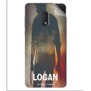 Snooky Printed Logan Pvc Vinyl Mobile Skin Sticker For Nokia 6