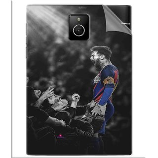 Snooky Printed lionel messi wallpaper 2017 Pvc Vinyl Mobile Skin Sticker For BlackBerry Passport