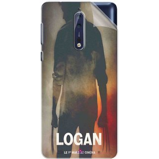 Snooky Printed Logan Pvc Vinyl Mobile Skin Sticker For Nokia 9