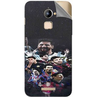Snooky Printed lionel messi wallpaper Pvc Vinyl Mobile Skin Sticker For Coolpad Note 3 Lite