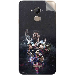 Snooky Printed lionel messi wallpaper Pvc Vinyl Mobile Skin Sticker For Coolpad Note 3 Plus