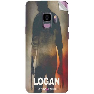Snooky Printed Logan Pvc Vinyl Mobile Skin Sticker For Samsung Galaxy S9