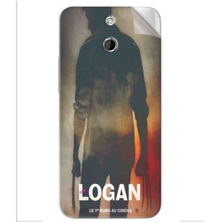 Snooky Printed Logan Pvc Vinyl Mobile Skin Sticker For Htc One E8