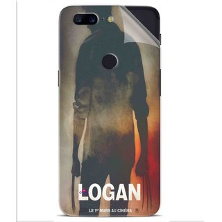 Snooky Printed Logan Pvc Vinyl Mobile Skin Sticker For OnePlus 5t
