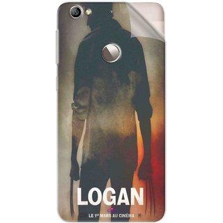 Snooky Printed Logan Pvc Vinyl Mobile Skin Sticker For Letv Le 1S