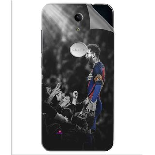 Snooky Printed lionel messi wallpaper 2017 Pvc Vinyl Mobile Skin Sticker For Swipe Elite Plus