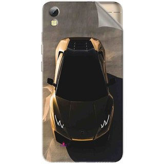 Snooky Printed Lombarghni Pvc Vinyl Mobile Skin Sticker For Tecno i7