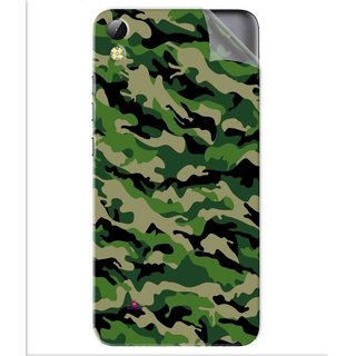Snooky Printed Military Camouflage Pattern Pvc Vinyl Mobile Skin Sticker For Tecno i3