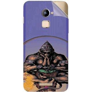 Snooky Printed Lord Hanuman Ji bhagvan bala ji maharaj Pvc Vinyl Mobile Skin Sticker For Coolpad Note 3 Lite
