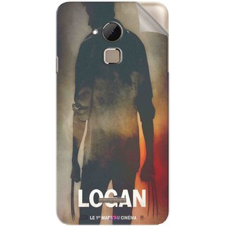 Snooky Printed Logan Pvc Vinyl Mobile Skin Sticker For Coolpad Note 3 Plus