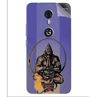Snooky Printed Lord Hanuman Ji bhagvan bala ji maharaj Pvc Vinyl Mobile Skin Sticker For Gionee A1