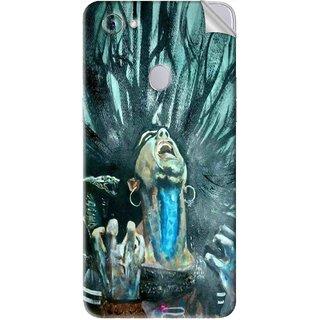 Snooky Printed Lord Shiva Anger Pvc Vinyl Mobile Skin Sticker For Oppo F7