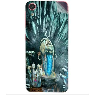 Snooky Printed Lord Shiva Anger Pvc Vinyl Mobile Skin Sticker For Htc Desire D626