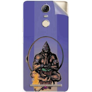 Snooky Printed Lord Hanuman Ji bhagvan bala ji maharaj Pvc Vinyl Mobile Skin Sticker For Lenovo Vibe K5 Note