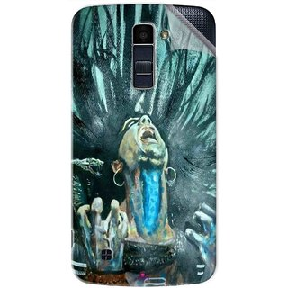 Snooky Printed Lord Shiva Anger Pvc Vinyl Mobile Skin Sticker For LG K10