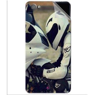 Snooky Printed motorcycle lover Pvc Vinyl Mobile Skin Sticker For Vivo X5 Pro