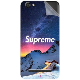 Snooky Printed Mountain Supreme Pvc Vinyl Mobile Skin Sticker For LYF Wind 6