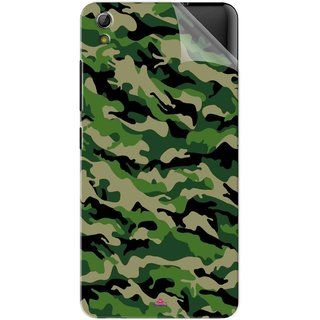 Snooky Printed Military Camouflage Pattern Pvc Vinyl Mobile Skin Sticker For Gionee Pioneer P6