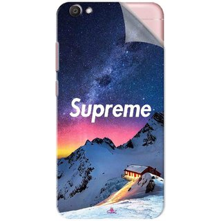 Snooky Printed Mountain Supreme Pvc Vinyl Mobile Skin Sticker For Vivo V5