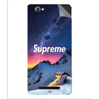 Snooky Printed Mountain Supreme Pvc Vinyl Mobile Skin Sticker For Lava A71