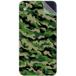 Snooky Printed Military Camouflage Pattern Pvc Vinyl Mobile Skin Sticker For HTC Desire 816