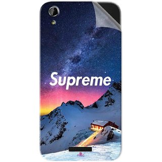 Snooky Printed Mountain Supreme Pvc Vinyl Mobile Skin Sticker For Lava X1 Atom