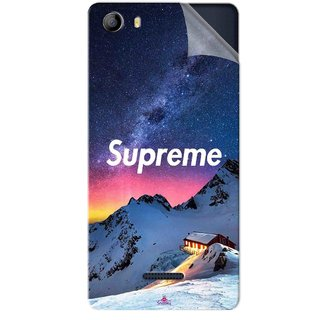 Snooky Printed Mountain Supreme Pvc Vinyl Mobile Skin Sticker For Micromax Canvas 5 E481