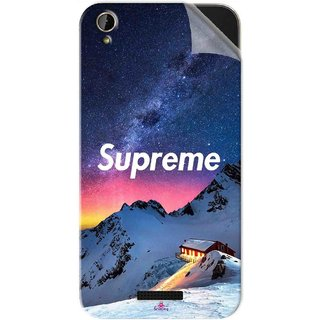 Snooky Printed Mountain Supreme Pvc Vinyl Mobile Skin Sticker For Lava X1 Mini