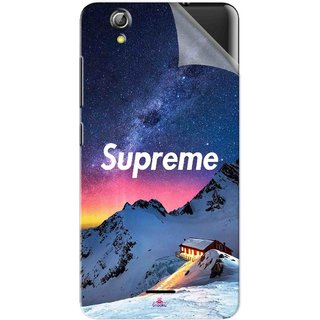 Snooky Printed Mountain Supreme Pvc Vinyl Mobile Skin Sticker For Gionee Pioneer P5 mini