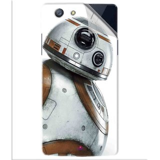 Snooky Printed Movie Star Wars Episode VII Pvc Vinyl Mobile Skin Sticker For Oppo A31T