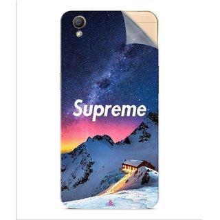 Snooky Printed Mountain Supreme Pvc Vinyl Mobile Skin Sticker For Oppo A37