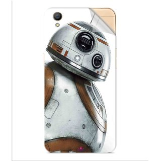 Snooky Printed Movie Star Wars Episode VII Pvc Vinyl Mobile Skin Sticker For Oppo A37